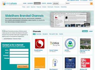 Slideshare_channels
